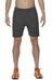 asics fuzeX 7In Print Short Men Meiro Dark Grey
